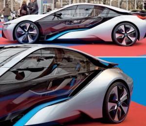 SUPERSPORTSVOGNEN BMW i8: RÅ OG REVOLUTIONERENDE HYBRID BIL