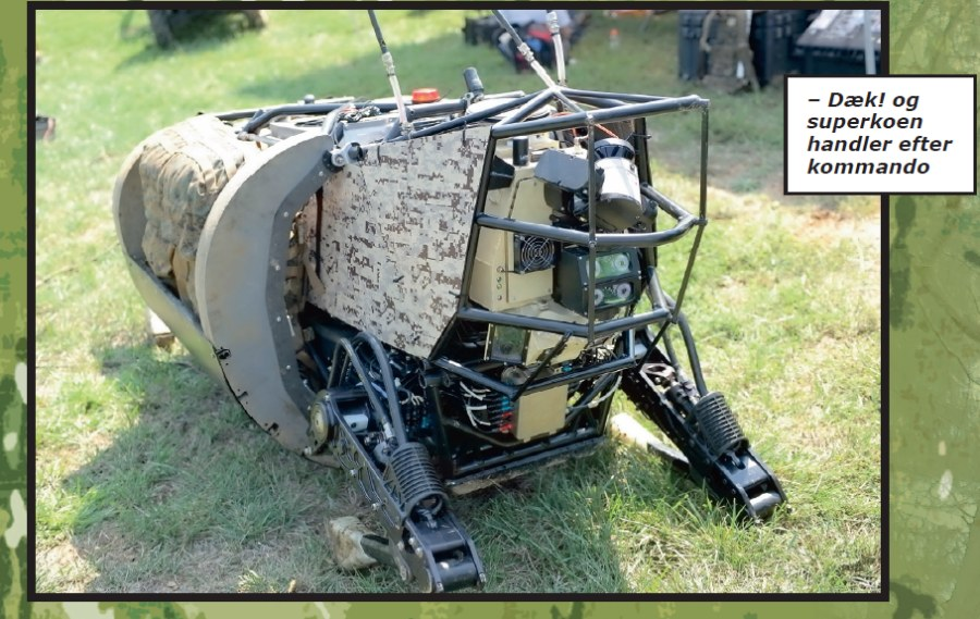 Legged Squad Support System robot