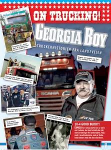 Trucker Georgia Boy har kørt 8 millioner km de sidste 45 år
