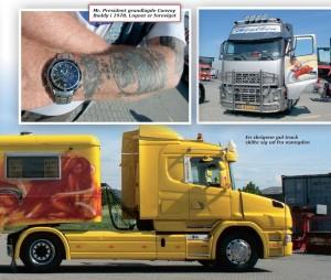 Mr. President er Danmarks mest kendte trucker og countrysanger
